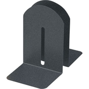 "MMF Industries™ 9"" High Black Granite Fashion Bookends"