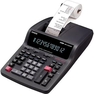 Casio DR-270TM Desktop Printing Calculator, Black