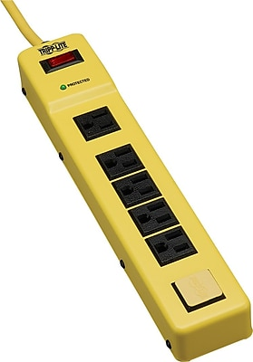 Tripp Lite Safety TLM626SA Surge Suppressor, 6 Outlets, 420 Joules