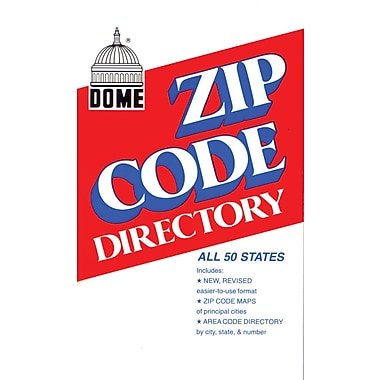 Dictionaries reference books staples dome zip code directory abridged 750 pages fandeluxe Images