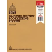 Dome® Monthly Bookkeeping Record