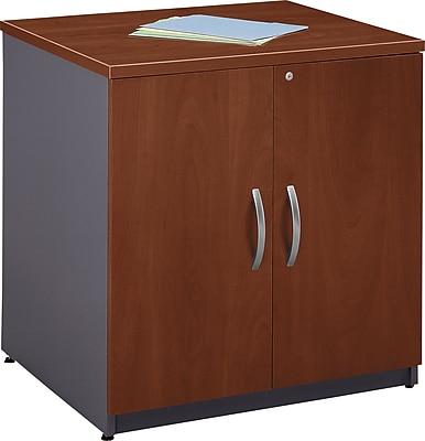 Bush Business Furniture Westfield 30W Storage Cabinet, Hansen Cherry (WC24496A)
