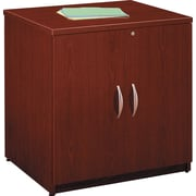 Bush Westfield 30 in Storage Cabinet, Cherry Mahogany