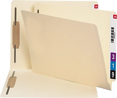 Staples® End-Tab File Folders, Manila, LETTER-size Holds 8 1/2