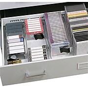 Safco® A/V Microform Storage Cabinet, Light Gray (4935LG)