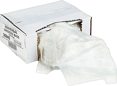Universal Recycled Shredder Bags 15