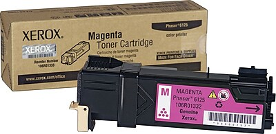 Xerox Phaser 6125 Magenta Toner Cartridge (106R01332)