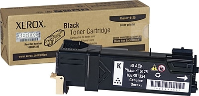 6125N Black Works with: Phaser 6125 On-Site Laser Compatible Toner Replacement for Xerox 106R01334