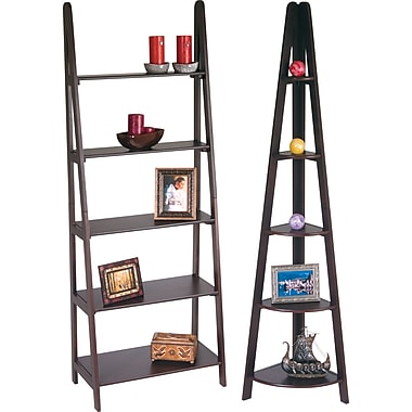Office Star Wood Ladder Bookcases