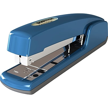 Stanley Bostitch Antimicrobial Full-Strip Stapler, Blue, 20 Sheet Capacity