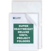 C-Line® Deluxe Super Heavyweight Vinyl Project Folders, Legal Size