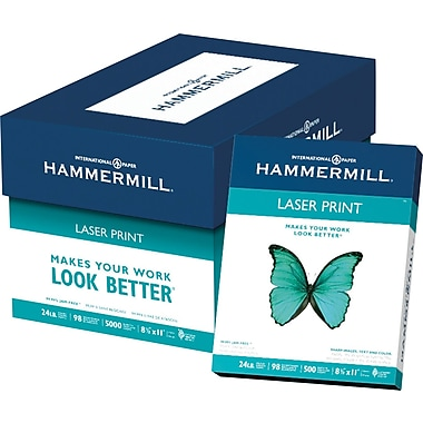 hammermill laser print paper staples