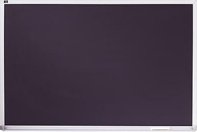 Quartet® Black Chalkboard, 3' x 4', Aluminum Frame