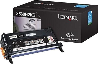 Lexmark X560H2KG Black Toner Cartridge, High Yield