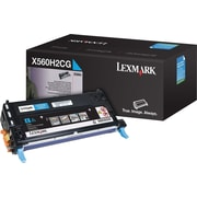 Lexmark X560H2CG Cyan Toner Cartridge, High Yield