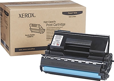 Xerox Phaser 4510 Black Toner High Yield Cartridge (113R00712)