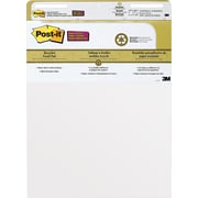 "Post-it® Easel Pad, 25"" x 30"", Plain White Recycled, 2/PK, (559RP)"