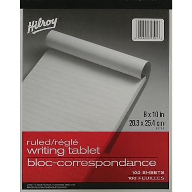 Hilroy Writing Tablets, 8