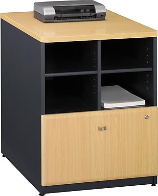 Bush Business Furniture Cubix 24W Storage Cabinet, Beech (WC14323P)
