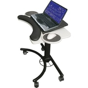 Balt 89829 Lapmatic Laptop & Keyboard Stand, Black