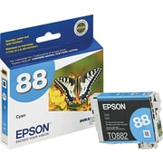 Epson® 88 (T0882200 Cyan Ink Cartridge