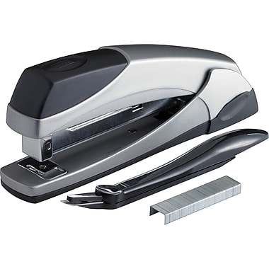 Staples® Executive Stapler Combo Pack, Chrome, 20-Sheet Capacity