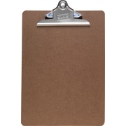 "Staples® Hardboard Clipboard, 9"" x 12.5"""