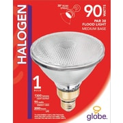 Globe PAR38 Halogen Floodlight, 90W, Clear