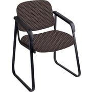 Office Star™ Custom Sled Base Guest Chair with Arms, Taupe