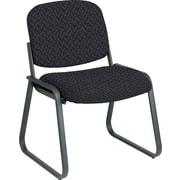 Office Star™ Custom Sled Base Armless Guest Chair, Ash