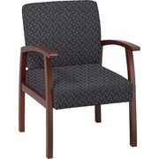 Office Star™ Custom Cherry Finish Wood Guest Chair, Ash