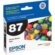 Epson 87, Black Ink Cartridge (T087120)