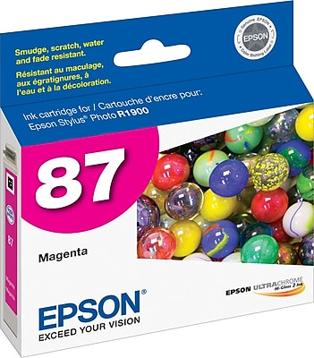 Epson 87 Magenta Ink Cartridge (T087320)