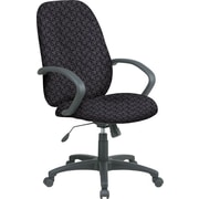 Office Star™ Fabric Executive Office Chair, Ash, Fixed Arm (EX2654-217)
