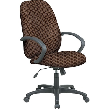 Office Star™ Fabric Executive Office Chair, Nugget, Fixed Arm (EX2654-220)