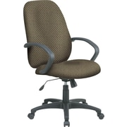 Office Star™ Fabric Executive Office Chair, Gold Dust, Fixed Arm (EX2654-294)