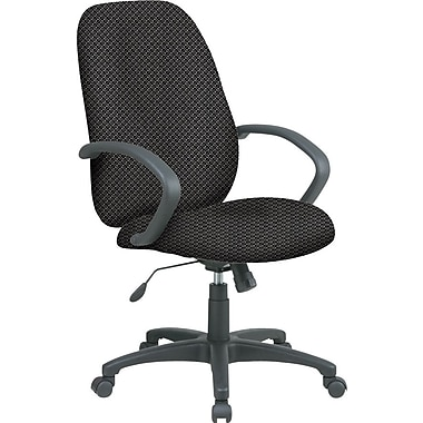 Office Star™ Fabric Executive Office Chair, Shale, Fixed Arm (EX2654-295)