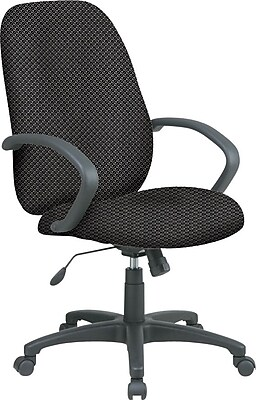 Office Star Custom High-Back Executive Chair, Shale