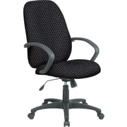 Office Star™ Fabric Executive Office Chair, Graphite, Fixed Arm (EX2654-320)
