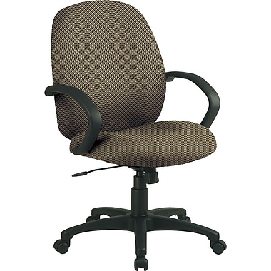 Office Star™ Fabric Conference Office Chair, Gold Dust, Fixed Arm (EX2651-294)