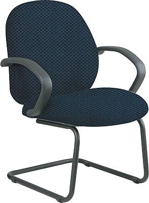Office Star™ Custom Fabric Guest Chair, Blue Galaxy