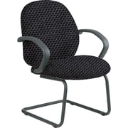 Office Star™ Custom Fabric Guest Chair, Graphite