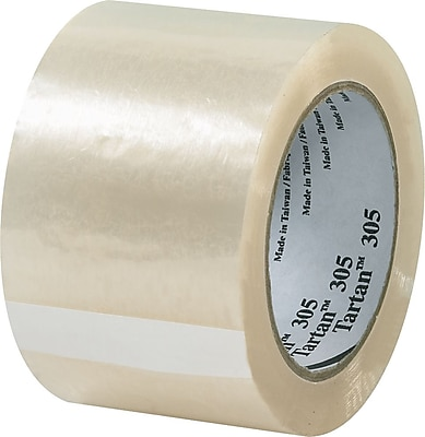 Scotch® #305 Acrylic Packaging Tape, 3