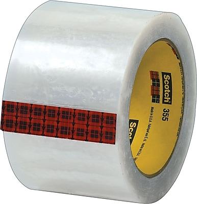 Scotch® #355 Hot Melt Packing Tape, 3