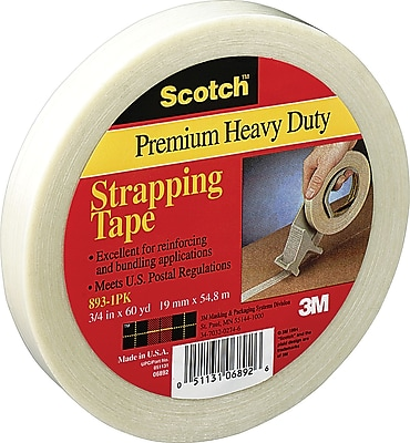 Scotch® #893 General Performance Filament Tape, 2