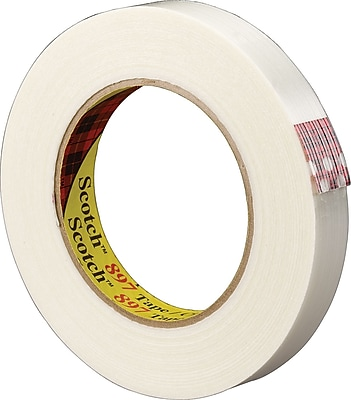 Scotch® #897 Medium Grade Filament Tape, 1/2