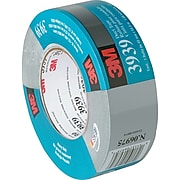 """3M 3939 Duct Tape, 9.0 Mil, 2"""" x 60 yds, Silver, 3/Case (T98739393PK)"""