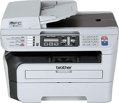 Brother MFC-7440N Monochrome Laser All-in-One Printer