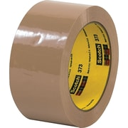 "Scotch® #355 Hot Melt Packing Tape, 2""x55 yds., Tan"
