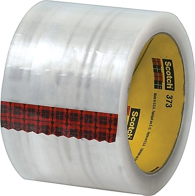 Scotch® #373 Hot Melt Packing Tape, 3